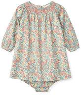 Ralph Lauren Floral-Print Dress w/ Bloomers, Size 9-24 Months