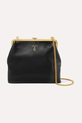Mark Cross Susanna Leather Shoulder Bag - Black