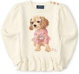 Ralph Lauren Knitted Sweater, Toddler & Little Girls (2T-6X)