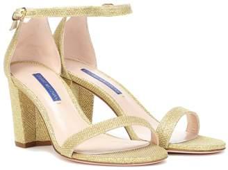 Stuart Weitzman Nearlynude metallic sandals