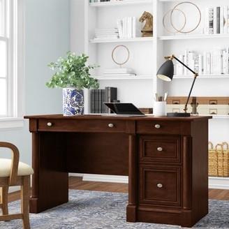 Three Posts Walworth Computer Desk Color: Select Cherry