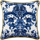 Roberto Cavalli Azuleyos Silk Bed Cushion