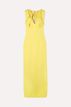 Antonio Berardi Folded Crepe Gown - Yellow