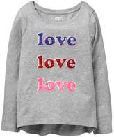 Crazy 8 Sparkle Love Tee