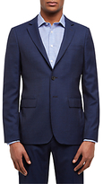 Jaeger Wool Textured Slim Fit Suit Jacket, Navy