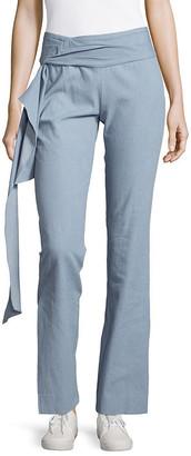 Petersyn Side-Tie Wide-Leg Pant