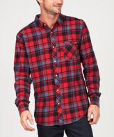 Zoo York ProspeCT Long Sleeve Shirt Red