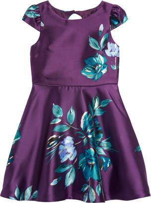 Zunie Mercado Floral Fit & Flare Dress
