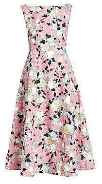 Erdem Women's Kinsey Floral Fit-&-Flare Dress