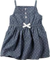Carter's Sleeveless 4th of July Chambray Dress - Baby Girls newborn-24m