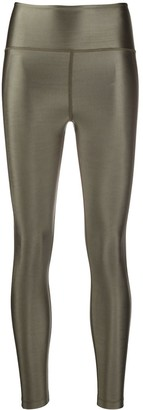 Filippa K Soft Sport Gloss-Effect High Rise Leggings