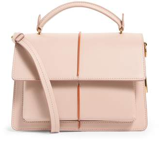 Marni Leather Attache Cross Body Bag