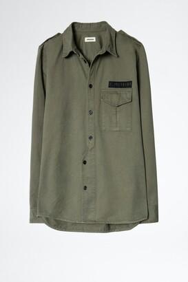 Zadig & Voltaire Serge Mili Dye Shirt