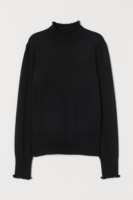 H&M Fine-knit Sweater - Black