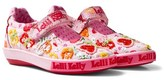 Lelli Kelly Kids Pink Papillon Butterfly Velcro Mary Jane Dolly Shoes