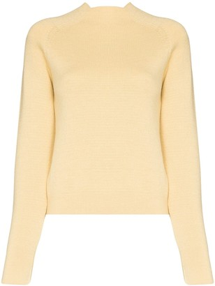 Carcel Milano square neck jumper