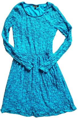 Topshop Tophop Blue Lace Dress for Women