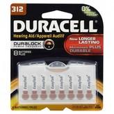 Duracell Duralock Hearing Aid Batteries 312 8 pack