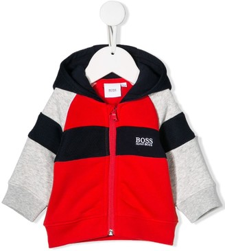 Boss Kids Colour Block Hoodie