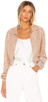 superdown Brianna Metallic Jacket