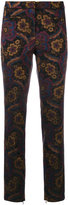 Cambio floral pattern trousers - women - Polyester/Viscose - 36