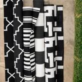 Geo Indoor/Outdoor Rug, Black