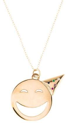 Alison Lou 14K Multistone Large Party On Necklace
