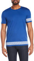 versace collection Printed Tee