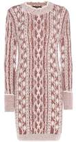 Isabel Marant Mouliné wool sweater dress