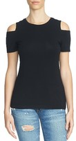 1 STATE Women's 1.state Cold Shoulder Tee