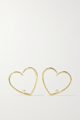 Yvonne Léon 9-karat Gold Diamond Earrings