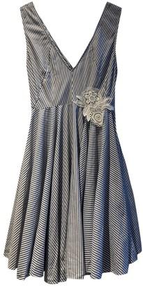Sandro Spring Summer 2020 Blue Cotton Dress for Women