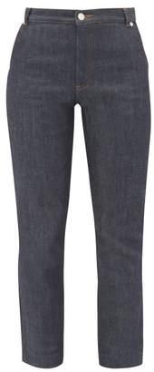 A.P.C. Chic Raw-denim Straight-leg Jeans - Womens - Dark Denim