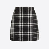 J.Crew Factory Plaid mini skirt