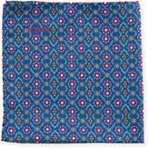 Eton Floral and Medallion-Print Silk Pocket Square