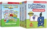 Preschool Prep Company Meet the Phonics DVD 3-Pack with Flashcards