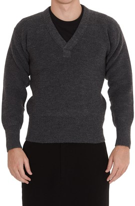 Maison Margiela V-Neck Knit Sweater