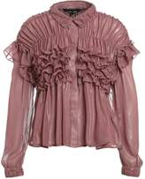 Sister Jane SUNSET BOULEVARD Shirt metallic marsala