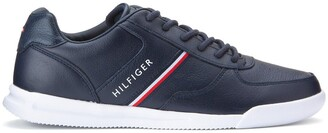 Tommy Hilfiger Lightweight Leather Mix Trainers