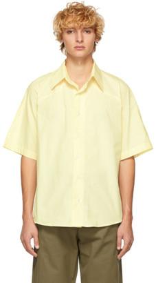 St Henri St-Henri SSENSE Exclusive Yellow Western Ballad Shirt