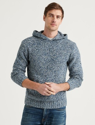 Lucky Brand Cross Marl Stitch Beach Hoodie