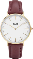 Cluse CL18415 La Bohème gold, stainless steel and leather watch