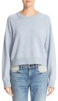 Alexander Wang Women's Wool & Cashmere Birdseye Pullover