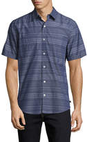 7 For All Mankind Men's Stripe Shirt