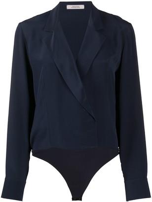 Dorothee Schumacher Notch Lapel Body Suit