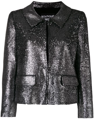 Boutique Moschino Sequin Embellished Jacket