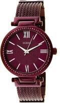 GUESS Women's U0638L6 Purple Stainless-Steel Quartz Fashion Watch