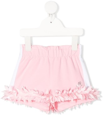 MonnaLisa Embroidered Fitted Shorts