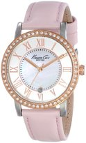 "Kenneth Cole New York Women's KC2845 ""Classic"" Stainless Steel Watch with Leather Band"