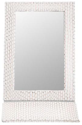 Stephanie Johnson Havana White Folding Mirror